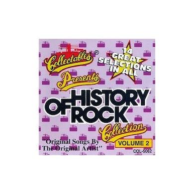 History Of Rock 2 / Various CD