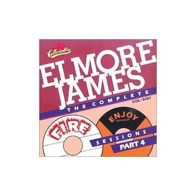 Elmore James COMPLETE FIRE & ENJOY SESSIONS 4 CD