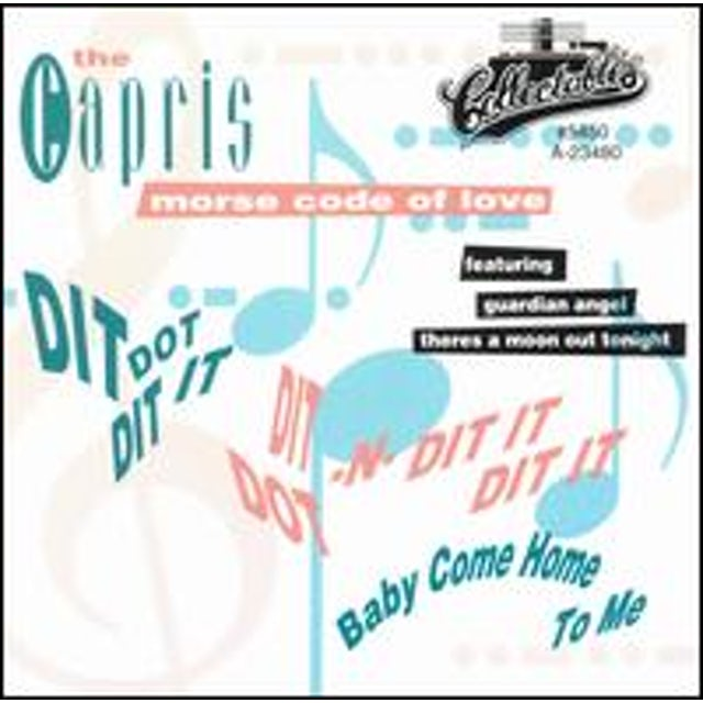 Capris MORSE CODE OF LOVE CD