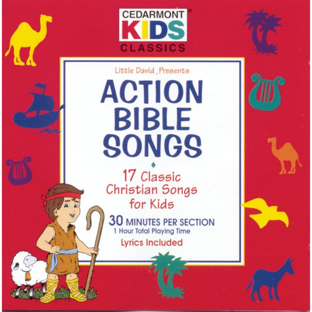 Cedarmont Kids CLASSICS: ACTION BIBLE SONGS CD