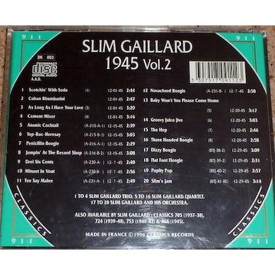 Slim Gaillard 1945 VOL 2 CD