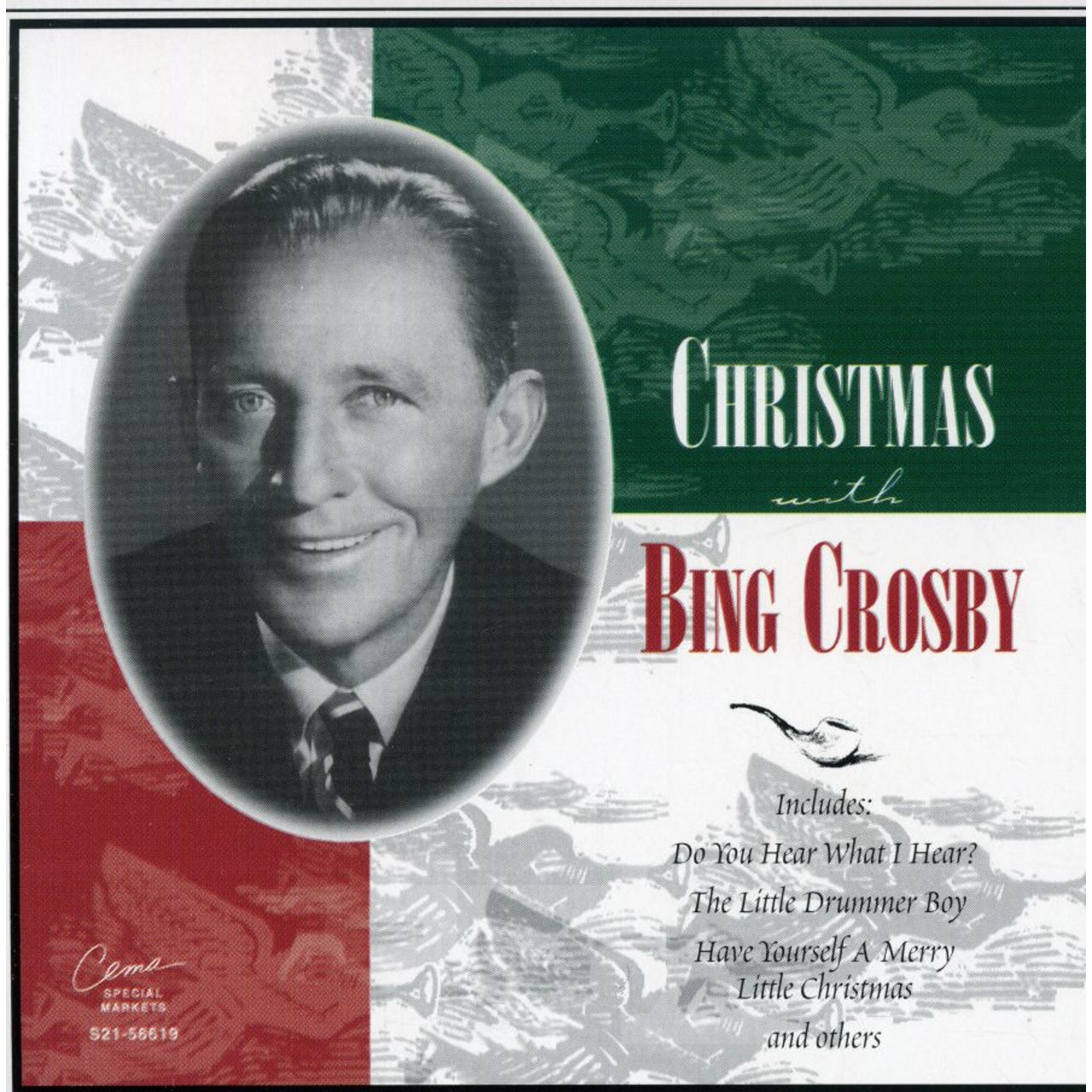 Bing Crosby Christmas Album.Christmas With Bing Crosby Cd