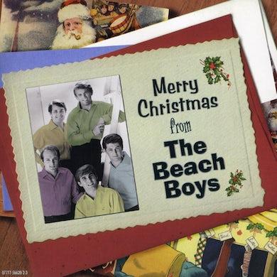 MERRY CHRISTMAS FROM THE BEACH BOYS CD