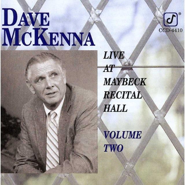 Dave McKenna LIVE AT MAYBECK 2 CD