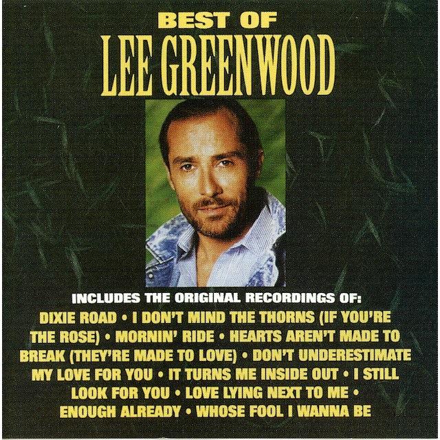 BEST OF LEE GREENWOOD CD