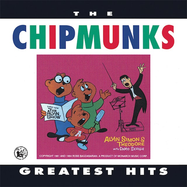 Alvin and the Chipmunks GREATEST HITS CD