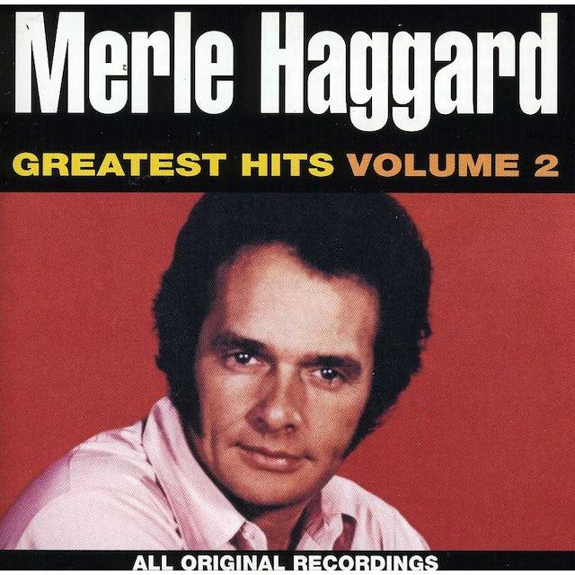 Merle Haggard GREATEST HITS 2 CD