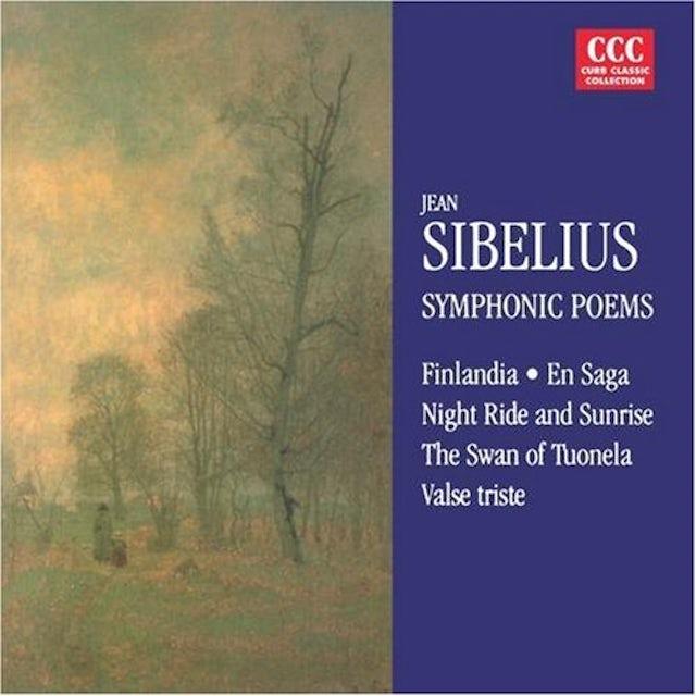 Sibelius SYMPHONIC POEMS CD