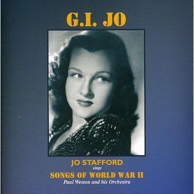 Jo Stafford GI JO: SONGS OF WORLD WAR II CD