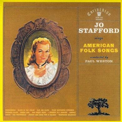 Jo Stafford SINGS AMERICAN FOLK SONGS CD
