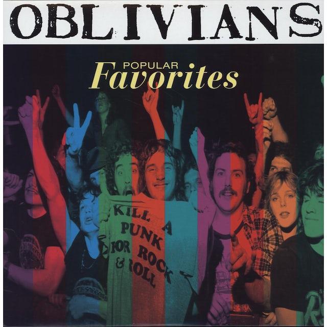 Oblivians POPULAR FAVORITES Vinyl Record