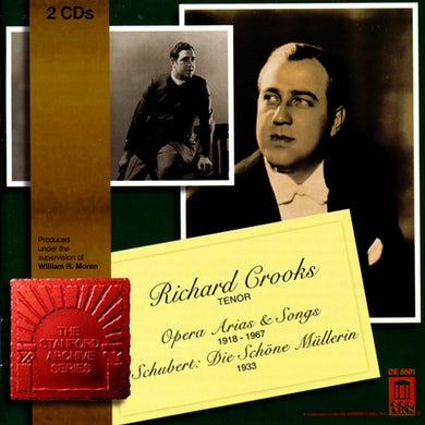Richard Crooks OPERA ARIAS & SONGS CD