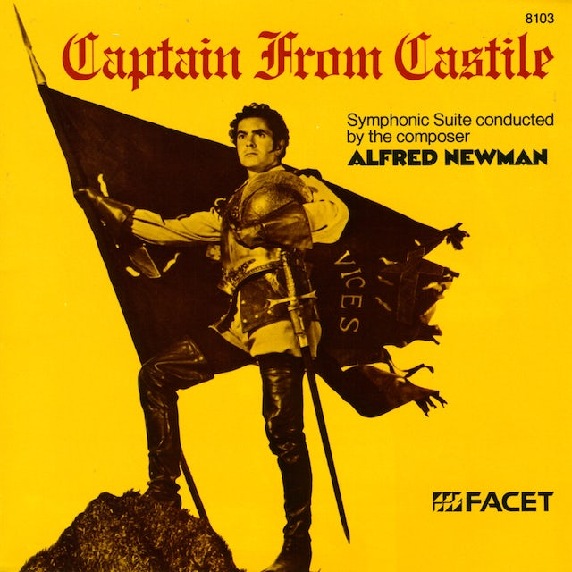 Alfred Newman CAPTAIN FROM CASTILE CD