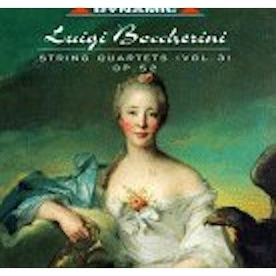 Boccherini STRING QUARTETS 3 OPUS 52 CD