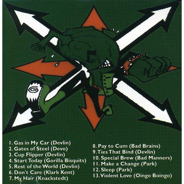 Skankin Pickle GREEN ALBUM CD