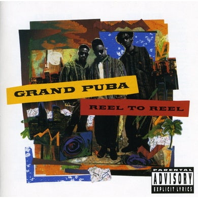Grand Puba REEL TO REEL CD