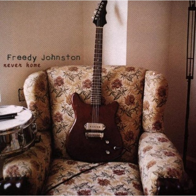 Freedy Johnston NEVER HOME CD