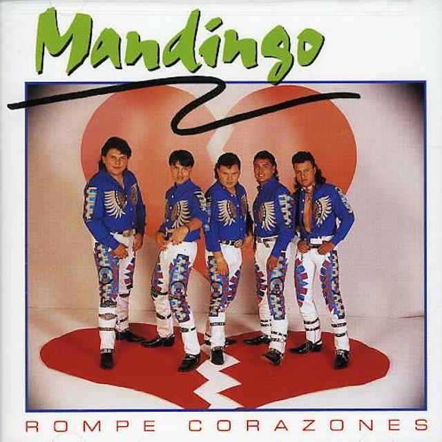 Mandingo ROMPE CORAZONES CD