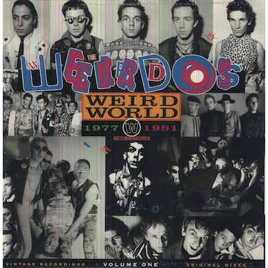Weirdos WEIRD WORLD 1 Vinyl Record