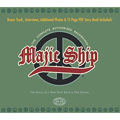 Majic Ship COMPLETE AUTHORIZED RECORDINGS CD