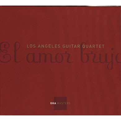 Los Angeles Guitar Quartet EL AMOR BRUJO CD