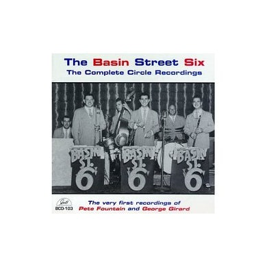 Basin Street Boys SIX COMPLETE CIRCLE RECORDINGS CD