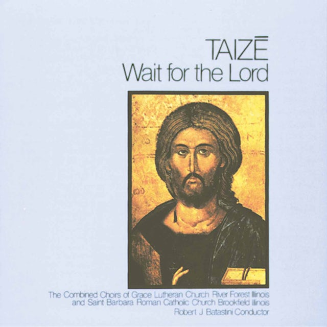 Taize WAIT FOR THE LORD CD