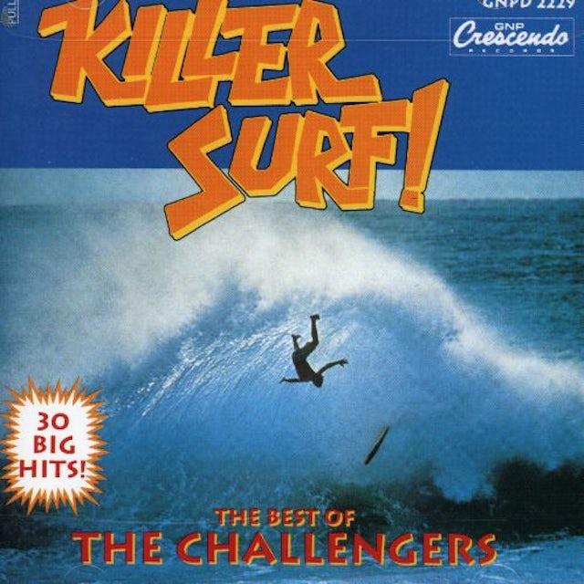 Challengers BEST OF: KILLER SURF CD