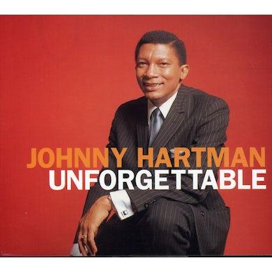 Johnny Hartman UNFORGETTABLE CD