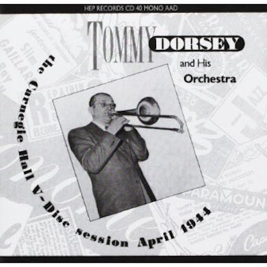 Tommy Dorsey CARNEGIE HALL 5: DISC SESSION CD