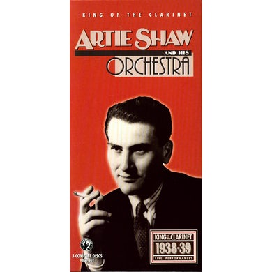 Artie Shaw KING OF THE CLARINET 1938-39 CD