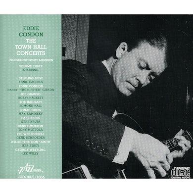 Eddie Condon TOWN HALL CONCERTS 3 CD