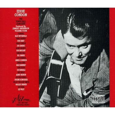 Eddie Condon TOWN HALL CONCERTS 4 CD