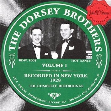 Dorsey Brothers VOLUME 1 CD