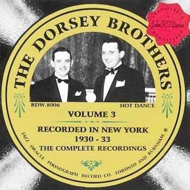 Dorsey Brothers VOLUME 3 CD