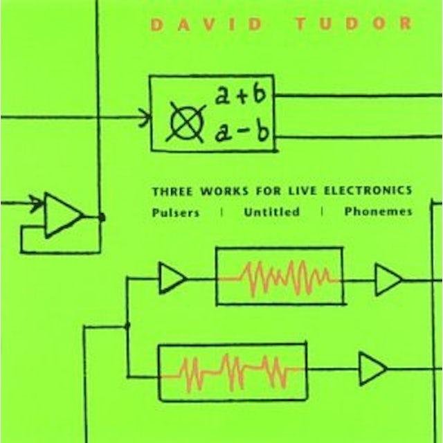 David Tudor 3 WORKS FOR LIVE ELECTRONICS CD