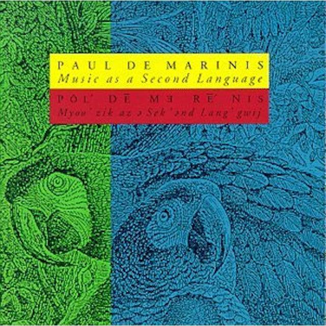 Paul Demarinis MUSIC AS A SECOND LANGUAGE CD