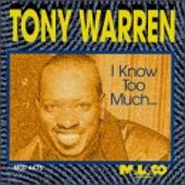 Tony Warren I KNOW TOO MUCH CD