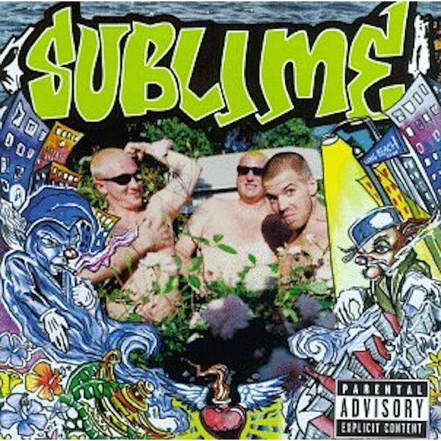 Sublime SECOND HAND SMOKE CD