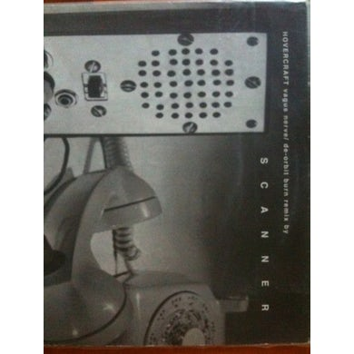 Hovercraft SCANNER REMIXES Vinyl Record