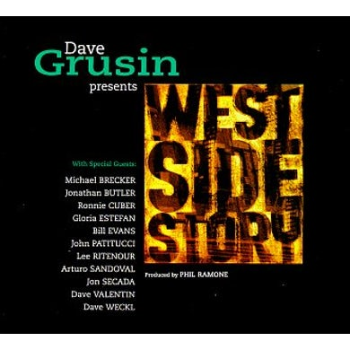 Dave Grusin PRESENTS: WEST SIDE STORY CD