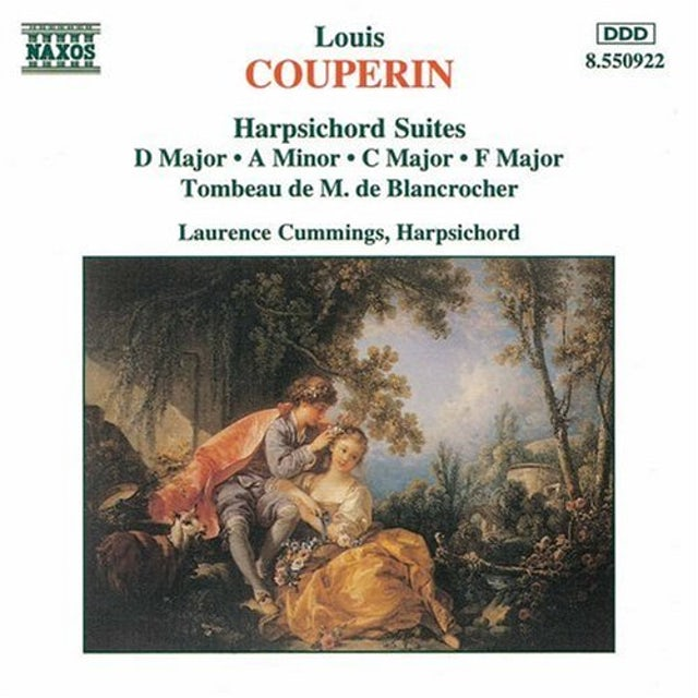 Couperin HARPSICHORD SUITES CD