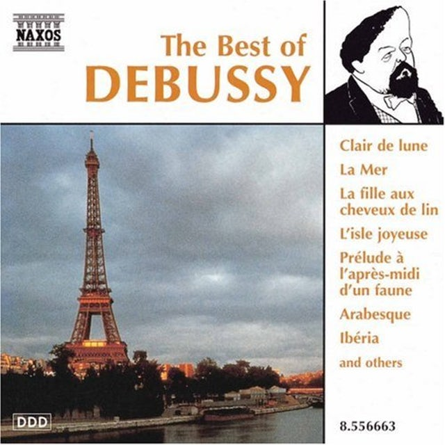 BEST OF DEBUSSY CD