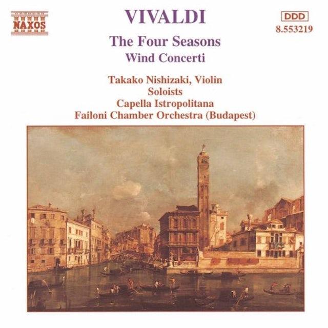 Vivaldi 4 SEASONS WIND CONCERTO CD