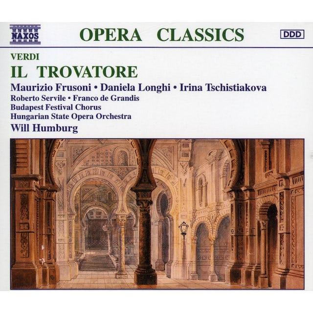 Verdi IL TROVATORE CD