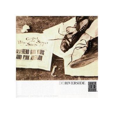 Rev Gary Davis GOSPEL BLUES & STREET SONGS CD