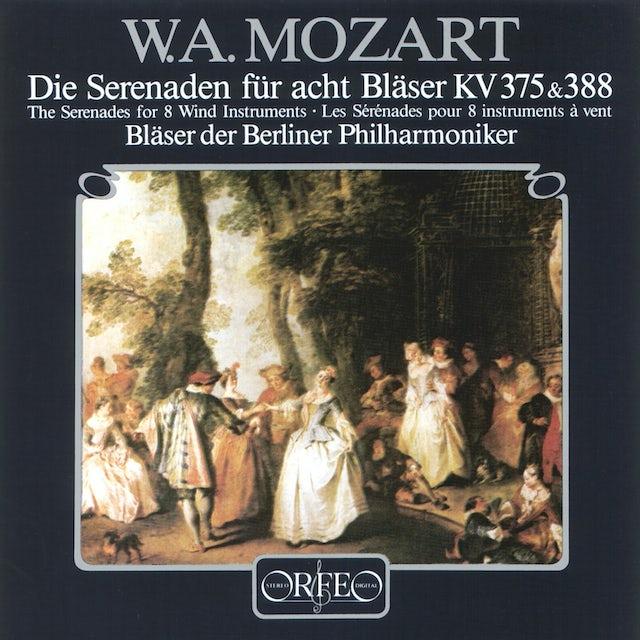 Mozart SERENADES FOR 8 WIND INSTRUMENTS,K. 375; 388 CD