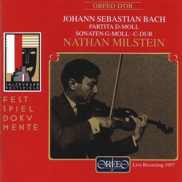 J.S. Bach / Milstein SONATAS FOR VIOLIN CD