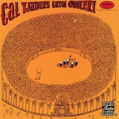 Cal Tjader LATIN CONCERT Vinyl Record