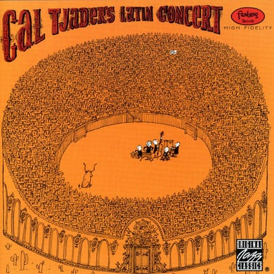 Cal Tjader LATIN CONCERT CD